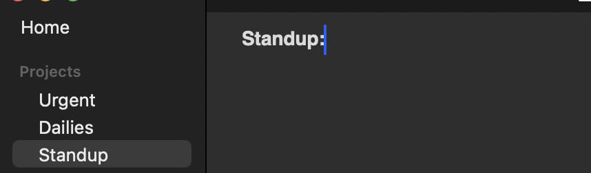 Screenshot of TaskPaper (2021-03-26, 10-51-46)